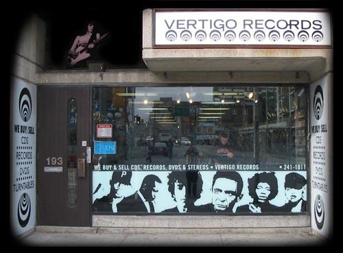 Vertigo Records : Ottawa's Premier Record Shop